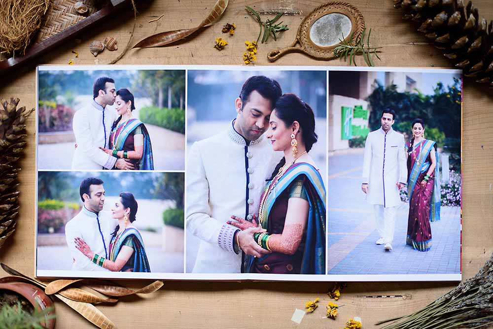 Girish Joshi Candid Wedding photography pune mumbai india Album 1 Coffee Table Books On India