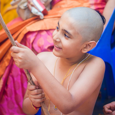 Kids photography Pune | Thread Ceremony | Chirayu