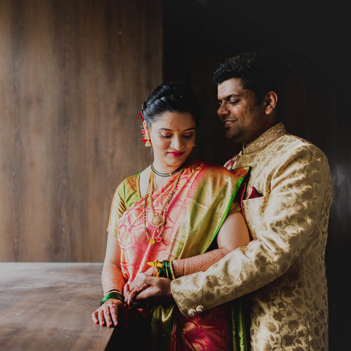 Wedding photographer in Pune | Harshada & Raghav | Girish Joshi