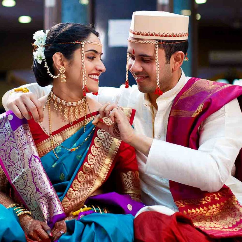 siddhartha palace marathi wedding photographer pune