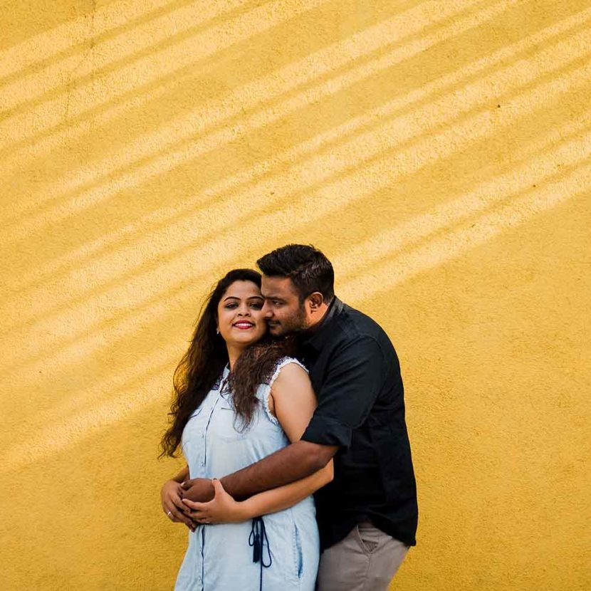 Girija & Avadhoot's farmhouse pre-wedding shoot in Pune
