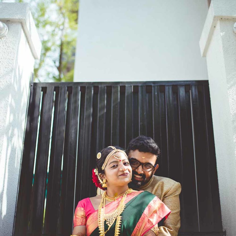 Greeshma & Abhishek's tambram-mallu wedding in Pune