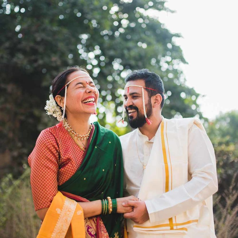 Amruta & Milind destination wedding photographer sangli belgaum