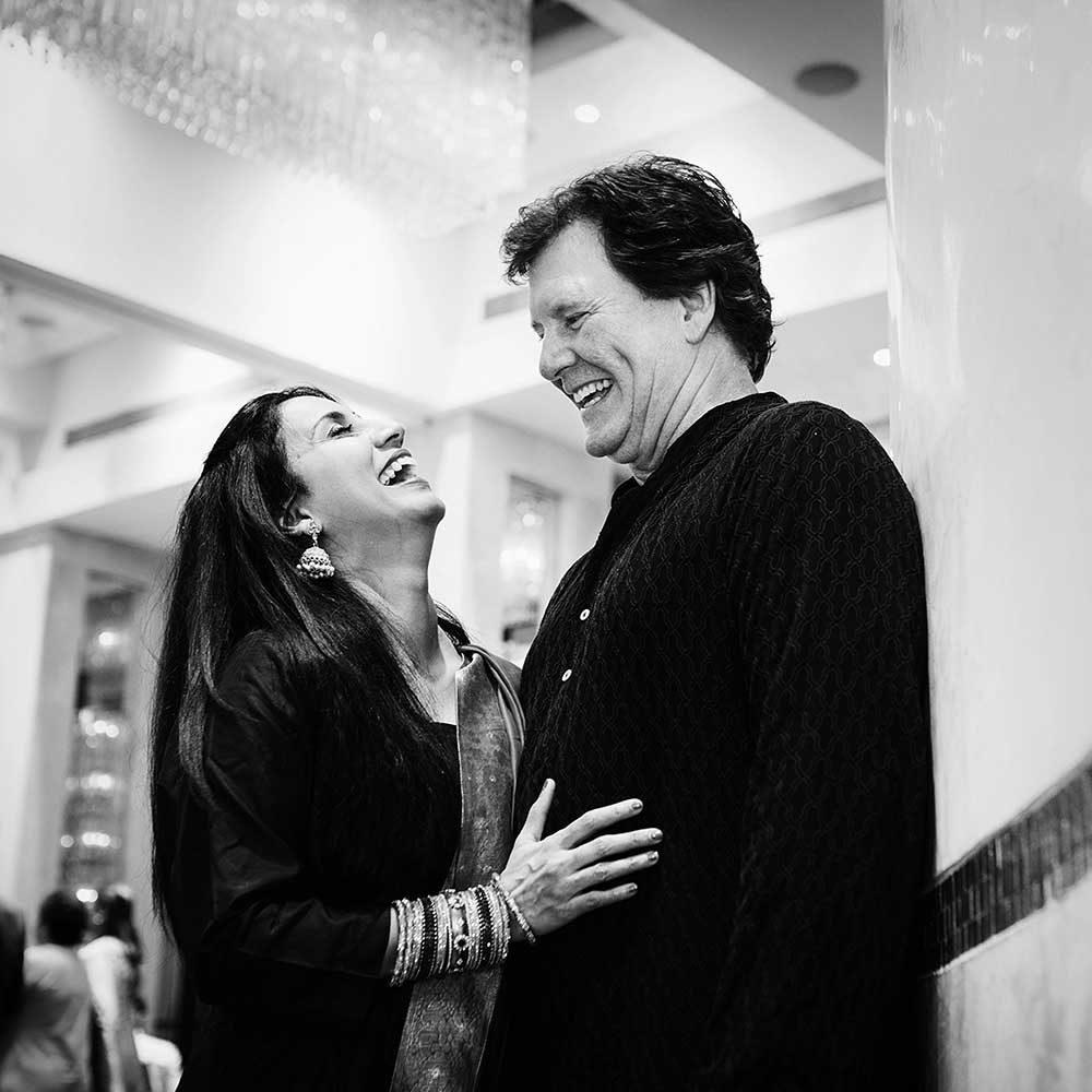 Ashwini & Scott's post wedding get-together at Taj Vivanta, Pune | Girish Joshi