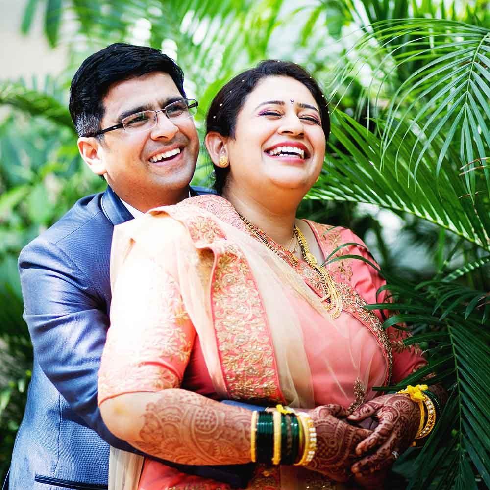 nandita & amol wedding photographers in pune vishnukrupa