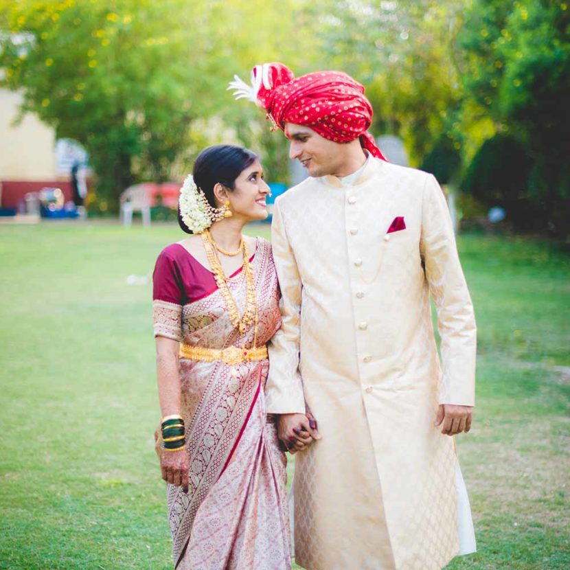 Priydarshani & Anshul's Marathi wedding at Mahasainik lawns Pune