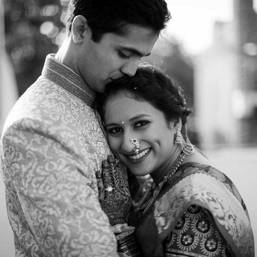 Radhika & Aditya's kannada marathi wedding from Australia to Pune