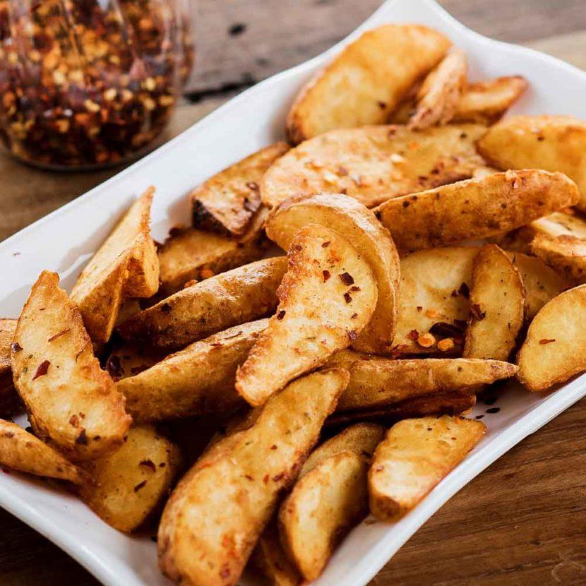 potatoe wedge food photography by pune food photographer girish joshi