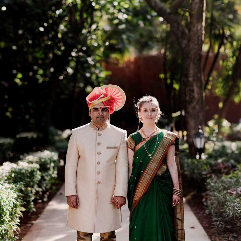 Natalia & Harshad's Maharashtrian Moldova-Indo Destination Wedding at Brightland, Mahabaleshwar