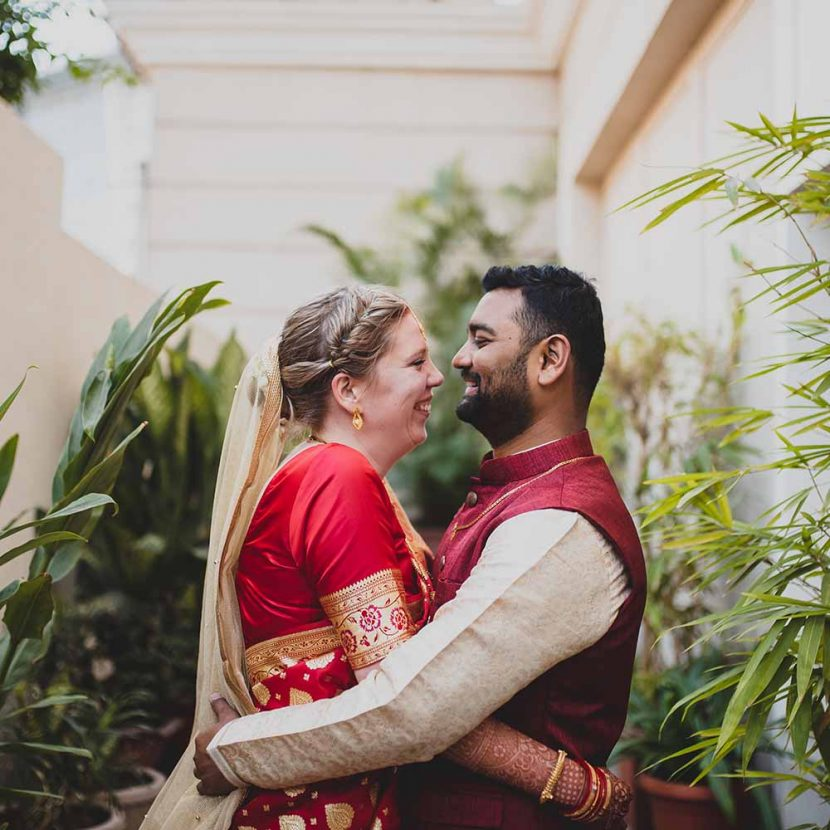 Susanne & Durgesh dutch-indo marathi wedding at goldfinch hotel mumbai