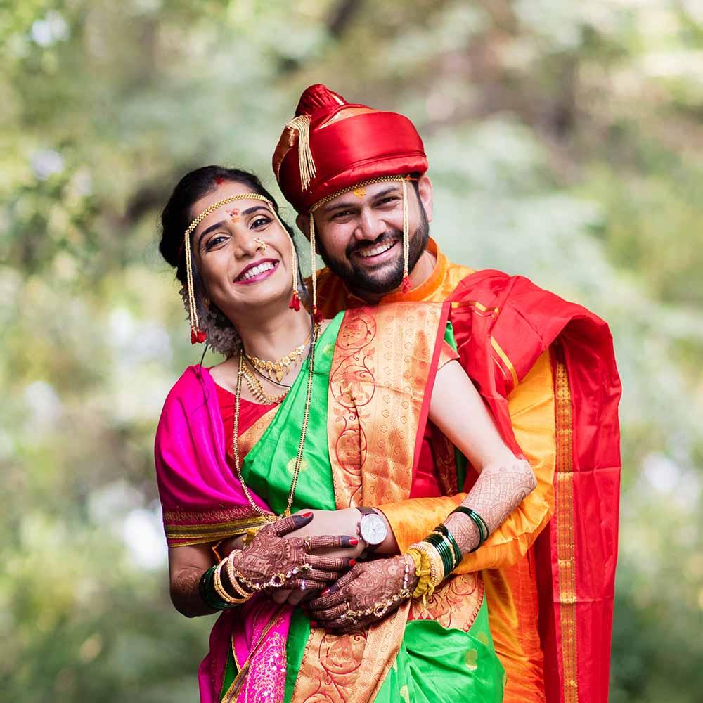 gauri and annanyas candid maharashtrian wedding photography in pune and mumbai